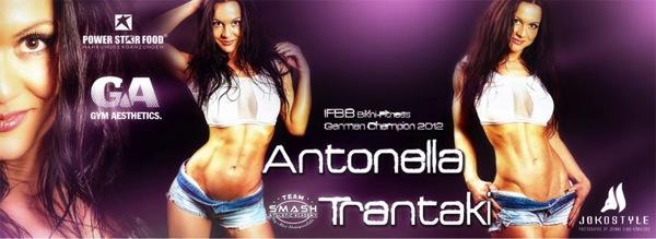 Antonella Trantaki pour POWERSTAR FOOD