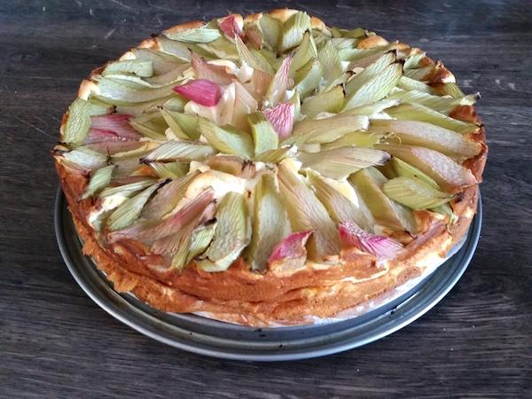 PSF Eiweiss Rharbarber Kuchen Rezept des Monats 05 2016